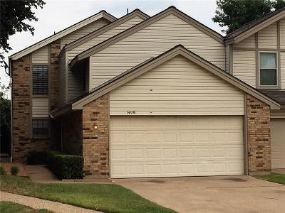Plano Townhouse Active Option Contract: 1416 Earlshire Place