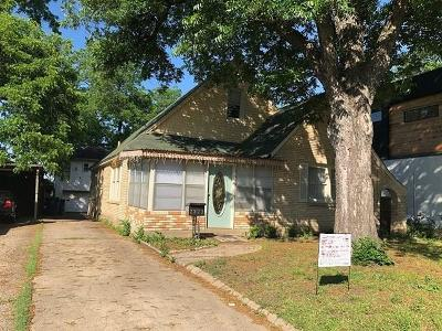 Dallas Single Family Home For Sale: 2323 Kirby Street
