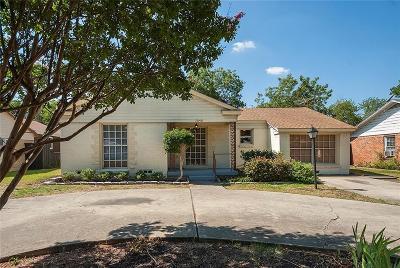 Single Family Home For Sale: 3640 Espanola Drive