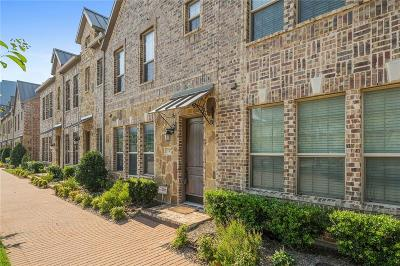 Plano Townhouse Active Contingent: 5747 Headquarters Drive