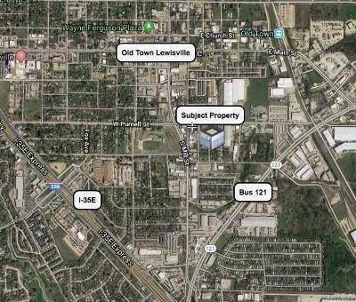 Lewisville Commercial Lots & Land Active Option Contract: 614 Lone Oak Street