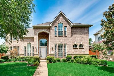 Plano Single Family Home Active Option Contract: 7405 Gurney Drive