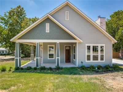 McKinney Single Family Home Active Option Contract: 701 N Bradley Street