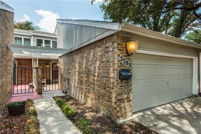 Carrollton Townhouse Active Contingent: 2703 Creek Wood Court