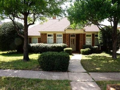 North Richland Hills Residential Lease For Lease: 8509 Castle Creek Road