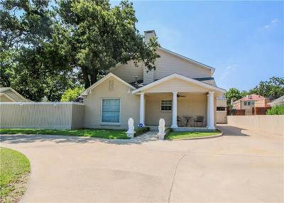 Fort Worth Single Family Home For Sale: 3911 White Settlement Road