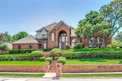 Colleyville Single Family Home Active Option Contract: 1411 Plantation Drive N