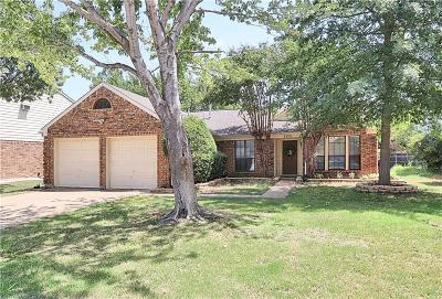 Flower Mound Single Family Home Active Option Contract: 5328 Colonial Drive