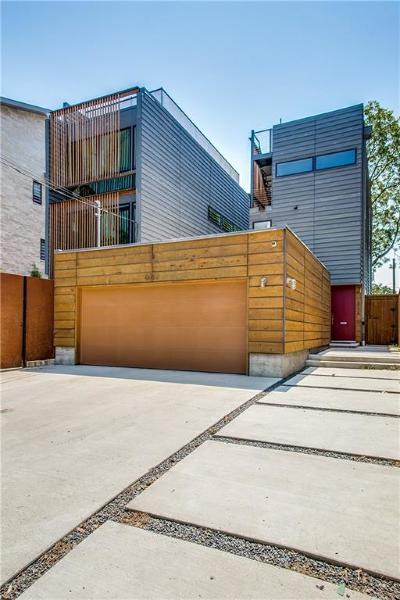 Dallas Half Duplex For Sale: 6024 Hudson Street