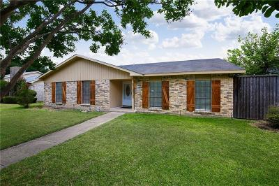 Plano Single Family Home Active Option Contract: 1613 Montana Trail