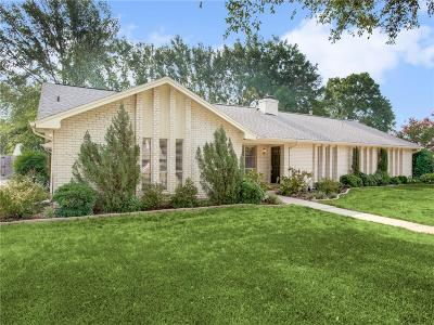 Colleyville Single Family Home Active Option Contract: 5805 Hunter Trail