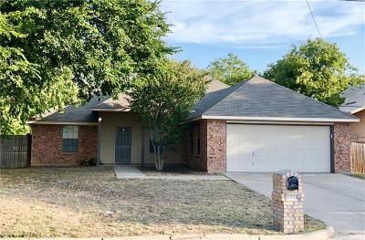 Stephenville TX Single Family Home Active Option Contract: $168,000