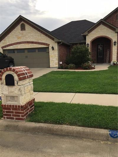 Corsicana Single Family Home For Sale: 820 Winged Foot
