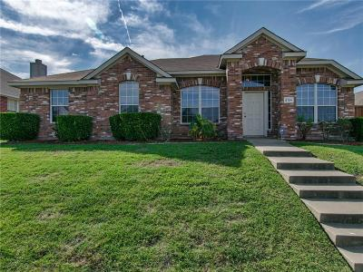 Mesquite Single Family Home Active Option Contract: 2124 Hickory Ridge Drive