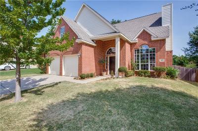 Lake Dallas Single Family Home Active Option Contract: 527 Clancy Lane