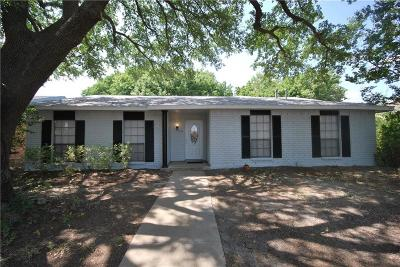 The Colony Single Family Home Active Option Contract: 5020 Stanley Drive