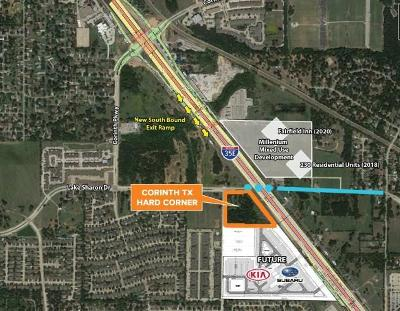 Corinth Commercial Lots & Land For Sale: 3302 Lake Sharon Drive