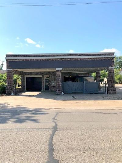Corsicana Commercial For Sale: 323 W Collin Street