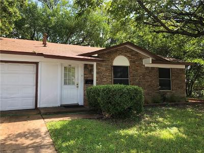 Single Family Home For Sale: 1702 N Yale Drive