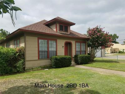 Denison Single Family Home For Sale: 726 W Texas