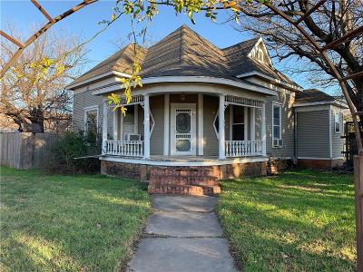 Stephenville TX Single Family Home For Sale: $129,255