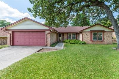 Bedford Single Family Home Active Option Contract: 1708 Post Oak Drive