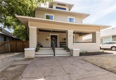 Fort Worth Single Family Home For Sale: 1321 Fairmount Avenue