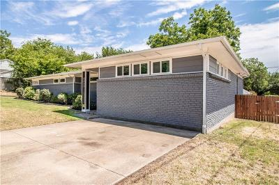 Fort Worth Single Family Home Active Kick Out: 6425 Waverly Way