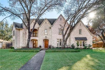 Dallas TX Single Family Home For Sale: $1,482,000
