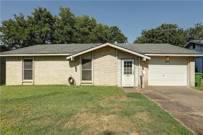 Garland Single Family Home Active Option Contract: 5414 Saddleback Road