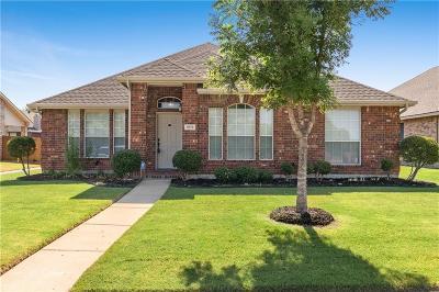 Allen Single Family Home Active Contingent: 1519 Brook Ridge Avenue