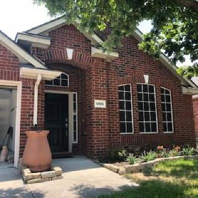 Frisco Single Family Home Active Option Contract: 6896 Longhorn Trail