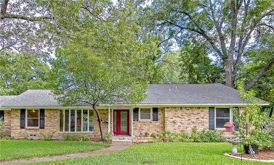Dallas County Single Family Home Active Contingent: 2432 Five Mile Circle