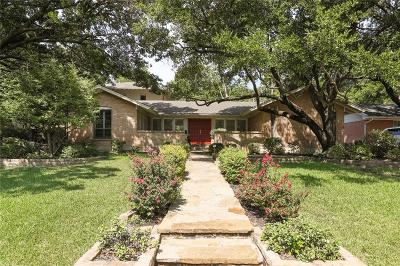 Richardson Single Family Home Active Option Contract: 701 N Waterview Drive