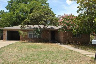 Comanche Single Family Home For Sale: 303 W Armstrong Avenue