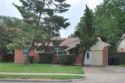 Garland Single Family Home Active Option Contract: 2702 Maple Drive