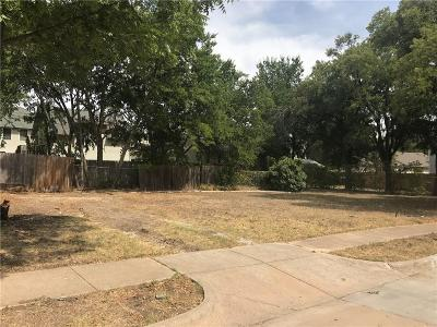 Fort Worth Residential Lots & Land For Sale: 1921 Washington