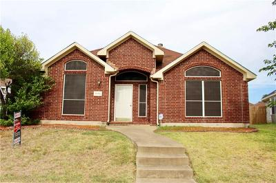 Rowlett Single Family Home Active Option Contract: 1905 Ambrose Drive