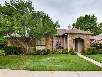 Coppell Single Family Home Active Option Contract: 317 Phillips Drive