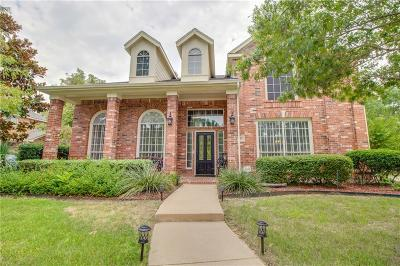 Flower Mound Single Family Home For Sale: 4612 Largo Drive