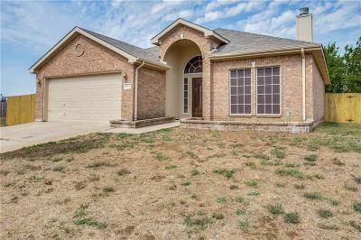 Fort Worth Single Family Home Active Option Contract: 12448 Silver Mist Trail