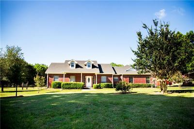 Terrell Single Family Home Active Option Contract: 29600 Fm 429