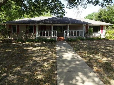 Waxahachie Single Family Home Active Option Contract: 215 Overhill Drive