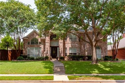 Plano Single Family Home Active Option Contract: 4601 Old Pond Drive