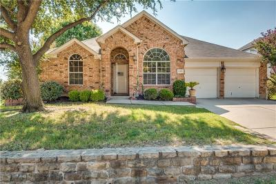 Coppell Single Family Home Active Option Contract: 829 Fallkirk Court