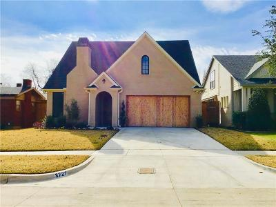 Fort Worth Single Family Home For Sale: 3727 Modlin Avenue