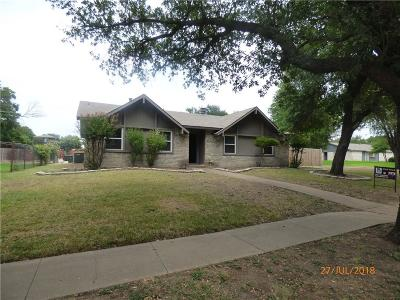 Plano Single Family Home Active Option Contract: 1301 Natchez Drive