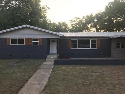 Comanche Single Family Home For Sale: 313 Sunset Drive
