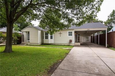 Single Family Home For Sale: 3714 Davila Drive