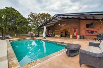 Aubrey Single Family Home For Sale: 6651 Lone Star Lane